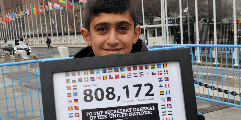 How Did More Than 800 000 Voices Help Bring Hope To The Middle East?