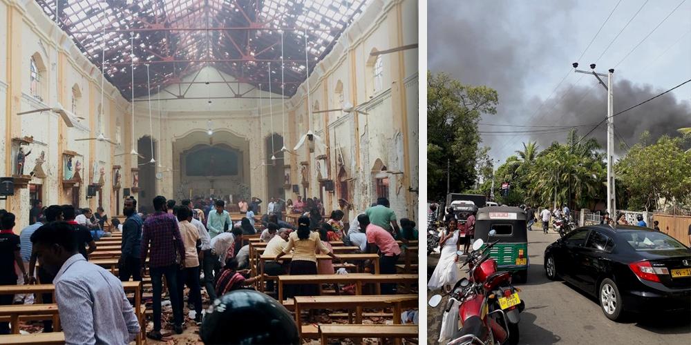 """Sri Lanka Bombings: €�…weep With Those Who Weep."""" (Rom 12:15) (Slegs In Engels Beskikbaar)"""
